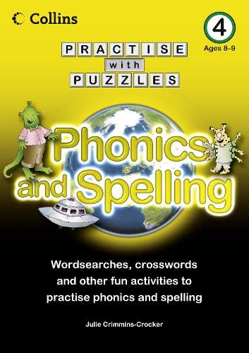 9780007437016: Collins Practise with Puzzles - Book 4: Phonics and Spelling