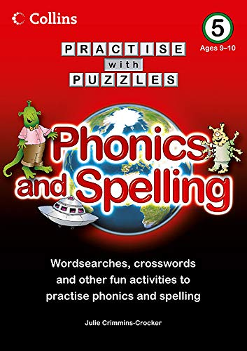 9780007437023: Collins Practise with Puzzles: Phonics and Spelling 5
