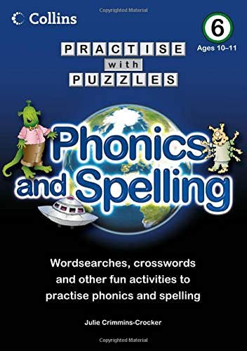 9780007437030: Collins Practise with Puzzles: Phonics and Spelling 6