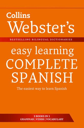 9780007437702: Webster's Easy Learning Spanish Complete (Collins Easy Learning Spanish)
