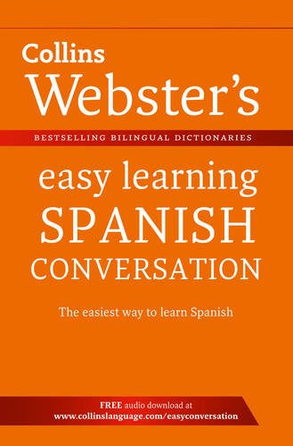 9780007437757: Collins Webster's Easy Learning Spanish Conversation. (Collins Easy Learning Spanish)