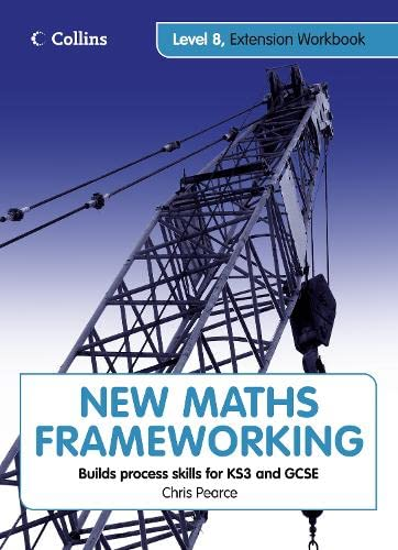 9780007438099: New Maths Frameworking - Level 8 Extension Workbook