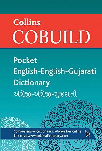 9780007438563: Collins Cobuild Pocket English-English-Gujarati Dictionary
