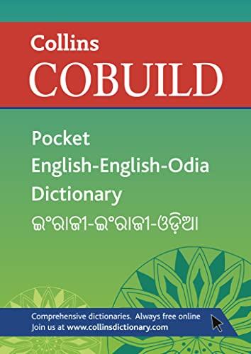 9780007438594: Collins Cobuild Pocket English-English-Oriya Dictionary.