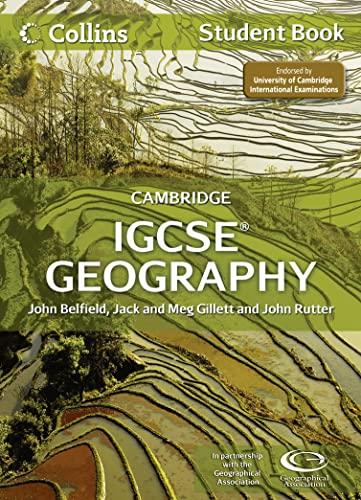 Collins Igcse Geography: Cambridge International Examinations. Student: Belfield, John