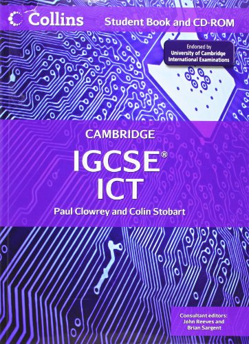 9780007438846: Collins Cambridge IGCSE - Cambridge IGCSE ICT Student Book and CD-ROM