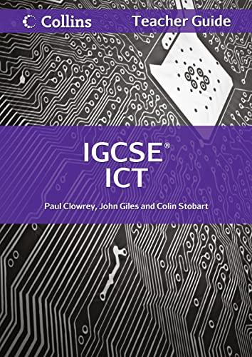 9780007438853: Cambridge IGCSE Teacher Guide (Collins IGCSE ICT)
