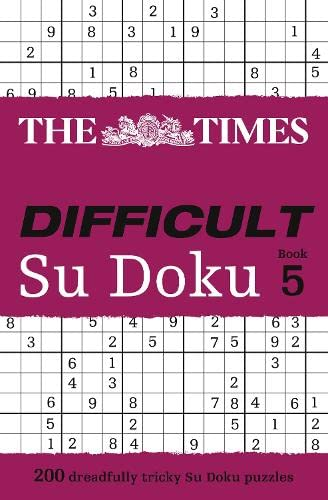 9780007440344: The Times Difficult Su Doku Book 5