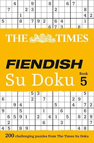 9780007440665: The Times Fiendish Su Doku Book 5