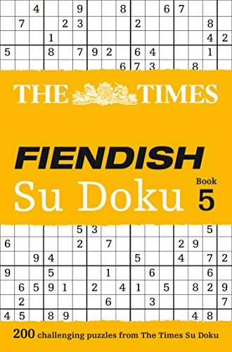 9780007440665: The Times Fiendish Su Doku Book 5