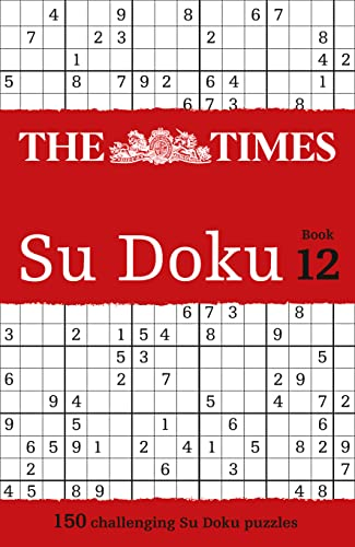 9780007440689: The Times Su Doku Book 12