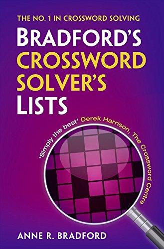 9780007441365: Collins Bradford's Crossword Solver's Lists