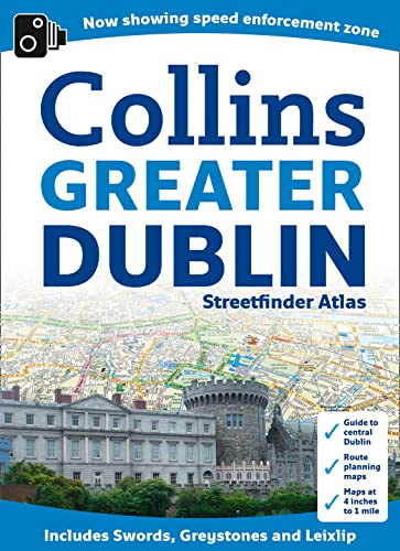 9780007443062: Collins Greater Dublin Streetfinder Atlas (Collins Travel Guides)