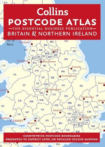 9780007443079: Postcode Atlas of Britain and Northern Ireland (Collins Postcode Atlas of Great Britain & Northern Ireland)