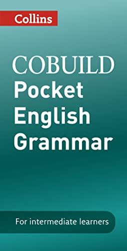 9780007443260: COBUILD Pocket English Grammar (Collins COBUILD Grammar)