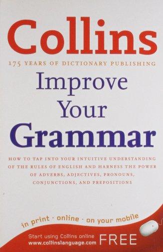 9780007443949: Collins Improve Your Grammar