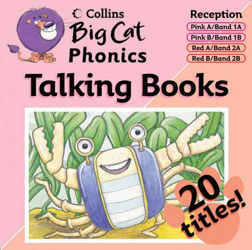 9780007444380: Collins Big Cat Audio - Phonics: Phonics Band 1 Pink/Band 2 Red (Collins Big Cat Talking Books)