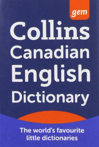 9780007447237: Canadian Dictionary.