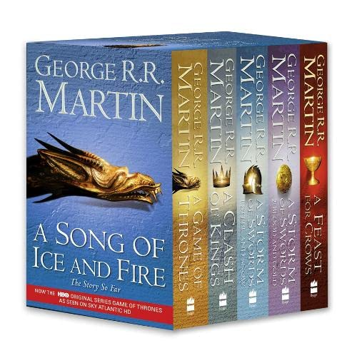 9780007448050: A Game of Thrones: A Song of Ice and Fire, Vol. 1-4: A Game of Thrones / A Clash of Kings / A Storm of Swords: Steel and Snow / A Storm of Swords: Blood and Gold