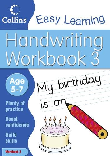 9780007449811: Handwriting Workbook 3 (Collins Easy Learning Age 5-7)