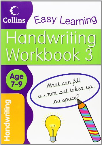 9780007449828: Handwriting Workbook 3 (Collins Easy Learning Age 7-11)