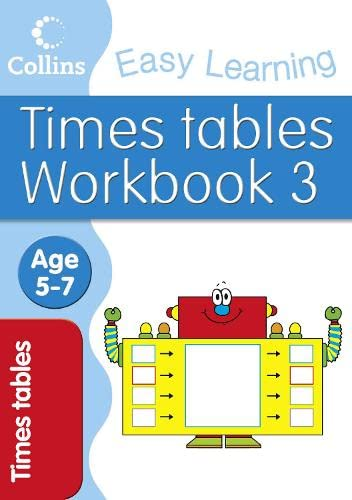 9780007449835: Times Tables Workbook 3 (Collins Easy Learning Age 5-7)