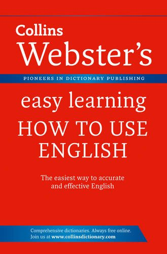 9780007450534: Collins Webster's Easy Learning How to Use English.