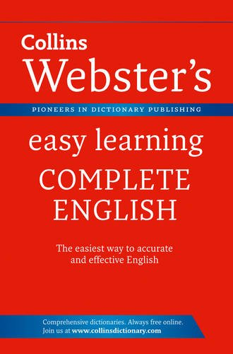 9780007450640: Collins Webster's Easy Learning Complete English.