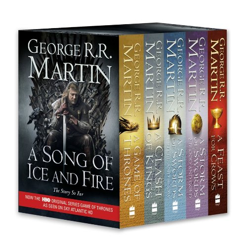 9780007450664: A Game of Thrones: The Story Continues: A Complete boxset of Books 1–4 (A Song of Ice and Fire)
