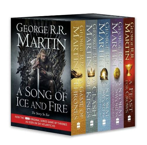 9780007450664: A Game of Thrones: The Story Continues: A Complete boxset of Books 1-4 (A Song of Ice and Fire)