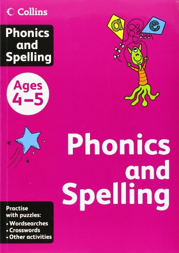 9780007452323: Collins Phonics and Spelling: Ages 4-5 (Collins Practice)