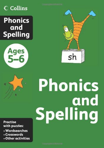 9780007452330: Collins Phonics and Spelling: Ages 5-6 (Collins Practice)