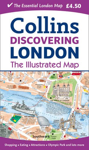 9780007452422: Discovering London Illustrated Map