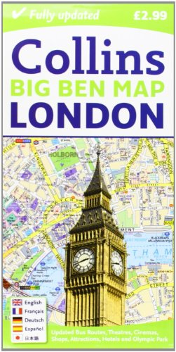 9780007452439: London Big Ben Map