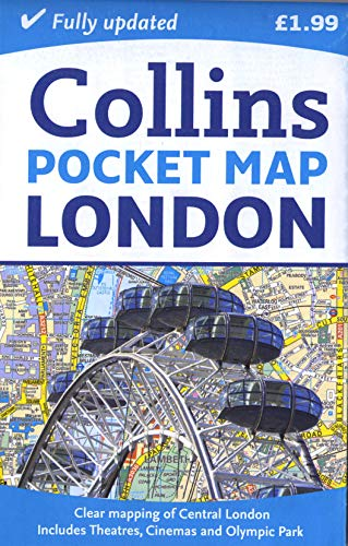 9780007452446: Collins London Pocket Map (Collins Travel Guides)