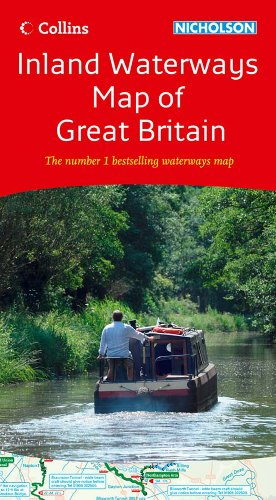 9780007452644: Collins Nicholson Inland Waterways Map of Great Britain (Collins/Nicholson Waterways Guides)
