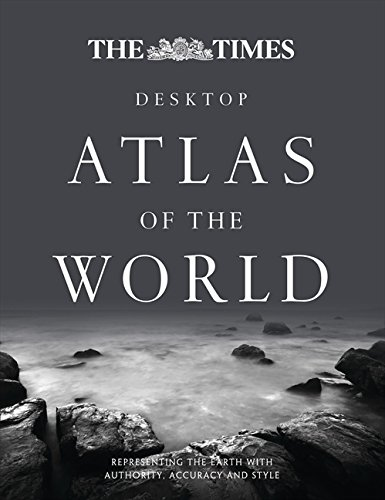 9780007452668: The Times Desktop Atlas of the World (World Atlas)