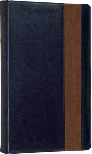 9780007453337: Holy Bible: English Standard Version (ESV) Anglicised Navy/Tan Thinline edition (Bible Esv)