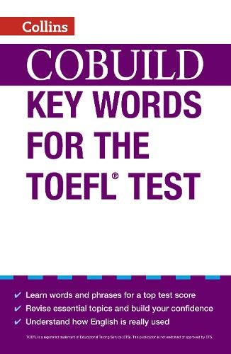 9780007453467: Collins Cobuild Key Words for the TOEFL Test