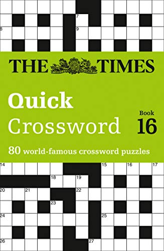 9780007453481: Times Quick Crossword book 16: 80 General Knowledge Puzzles from The Times 2