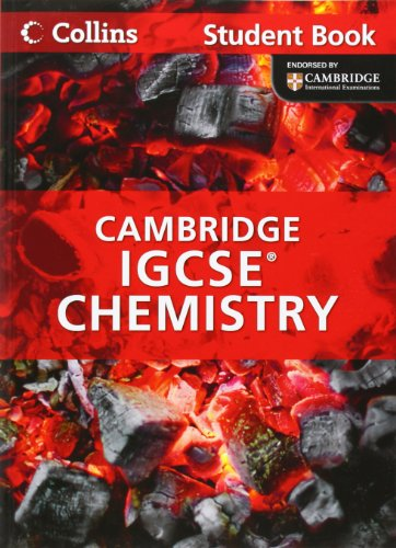 9780007454433: Chemistry Student Book: Cambridge IGCSE (Collins International GCSE)
