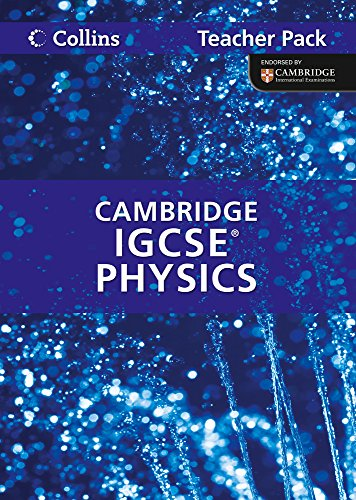 9780007454488: Physics Teacher Pack: Cambridge IGCSE (Collins International GCSE)