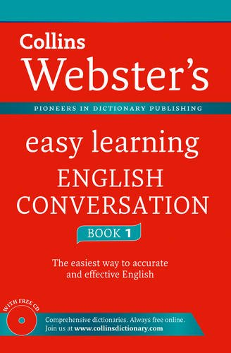 9780007454587: Collins Webster's Easy Learning English Conversation Book 1. (Collins Easy Learning English)