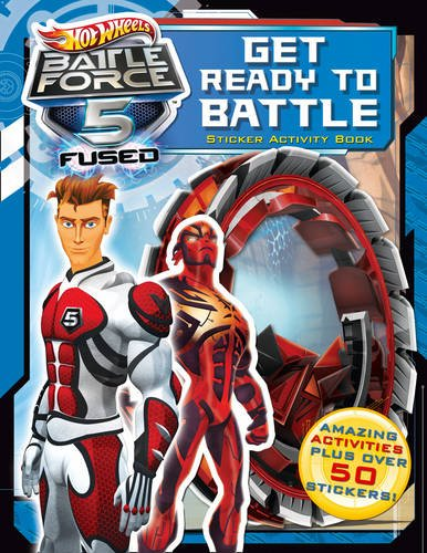 9780007455843: Get Ready to Battle! Sticker Activity Book (Hot Wheels Battle Force 5)