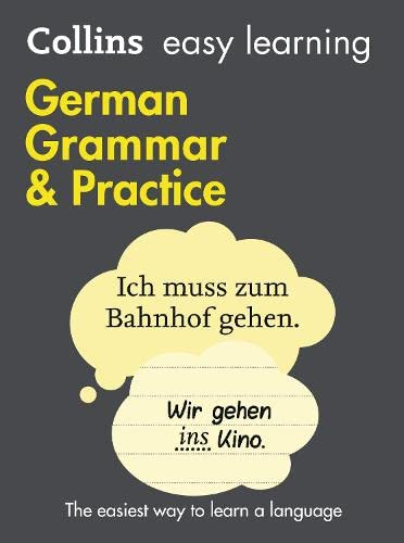 9780007456017: Easy Learning German Grammar and Practice (Collins Easy Learning German)