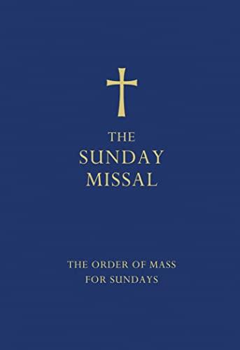 9780007456291: The Sunday Missal (Blue edition)