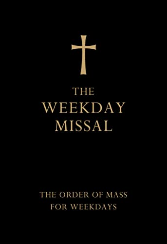 9780007456338: The Weekday Missal (Deluxe Black Leather Gift edition)
