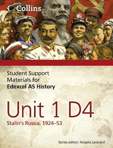 9780007457403: Student Support Materials for History - Edexcel AS Unit 1 Option D4: Stalin's Russia, 1924-53