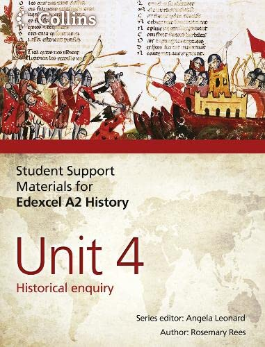 9780007457458: Student Support Materials for History - Edexcel A2 Unit 4: Historical Enquiry