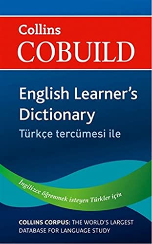 9780007458448: Collins Cobuild English Learner's Dictionary with Turkish: Turkce Tercumesi Ile (English and Turkish Edition)